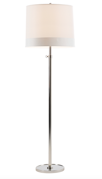 Simple Floor Lamp, Soft Silver