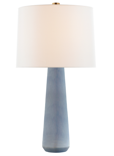 Athens Large Table Lamp, Polar Blue Crackle