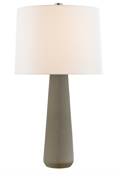 Athens Large Table Lamp, Shellish Gray