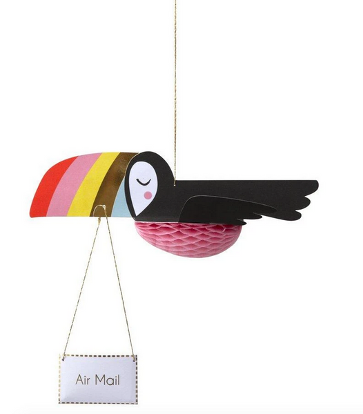 Birthday - Flying Toucan Card