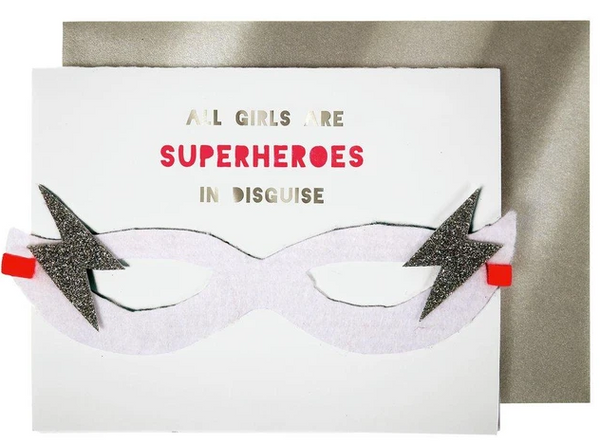 Birthday - Girl Superhero