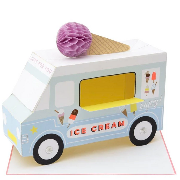 Birthday - Stand Up Ice Cream Van