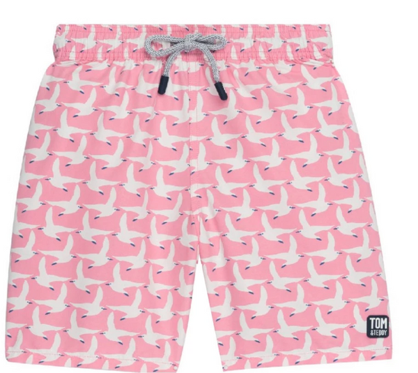 Tom & Teddy Men's Seagull Trunks