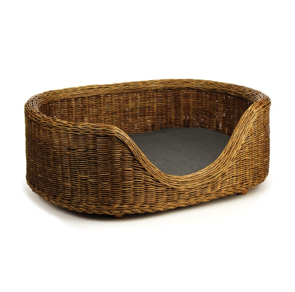 Burma Rattan Dog Bed, Large