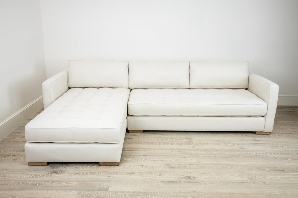 Sectional with Button Tufting