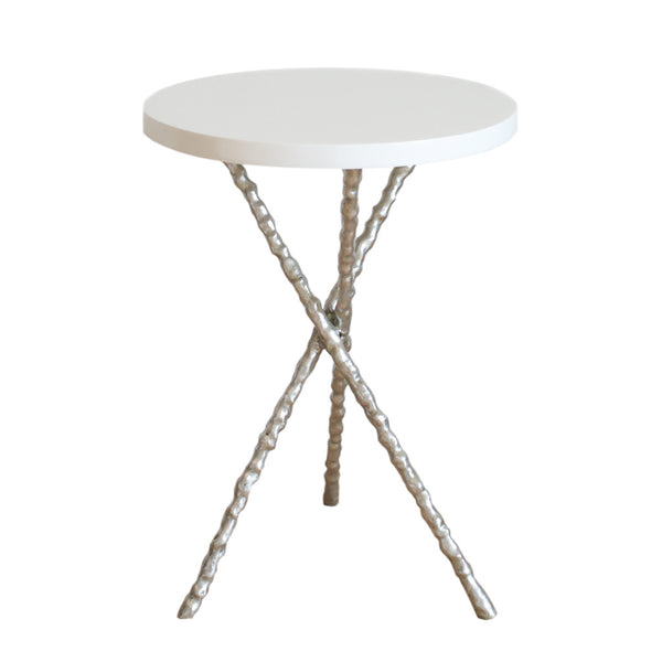 Silver Branch Accent Table