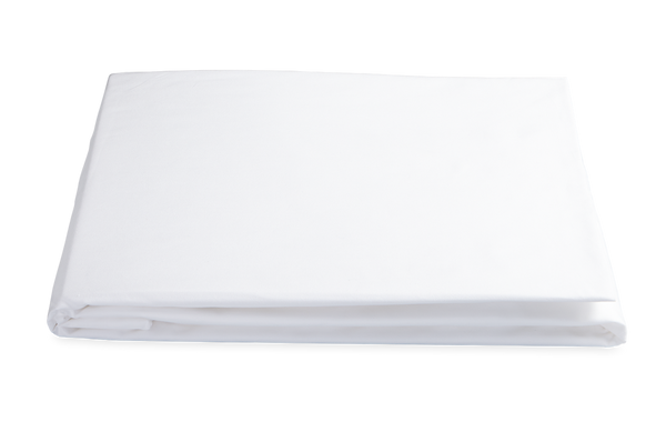 Matouk Sierra Fitted Sheet - White