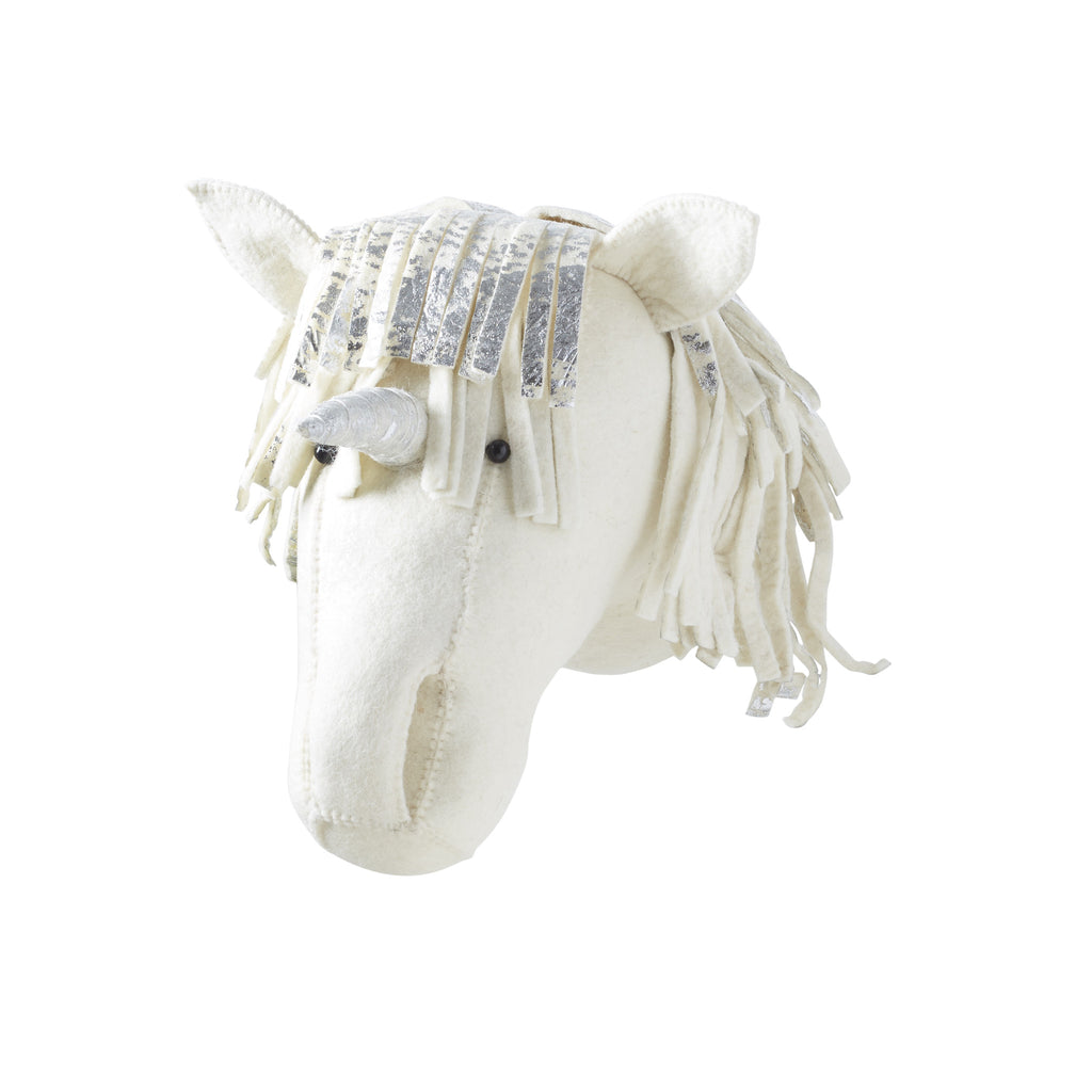 Unicorn Felt Head