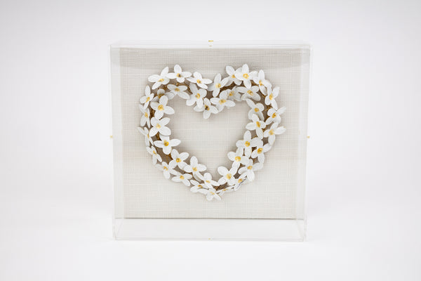 Tommy Mitchell Gold Ivory Heart