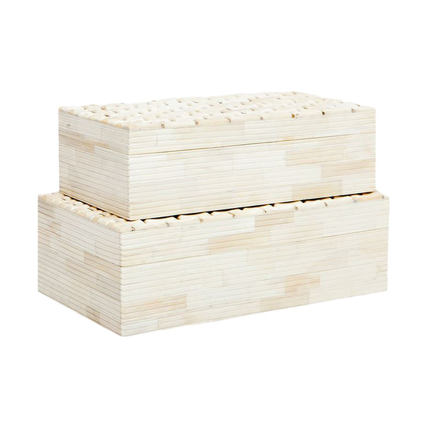 Tage Natural Bone Box, Large