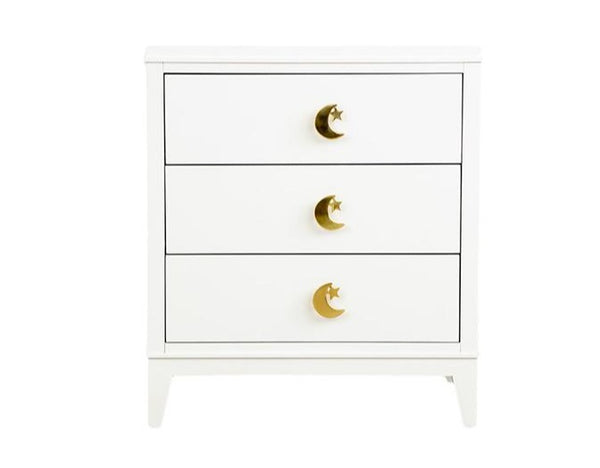 Tini Neverland Nightstand in White