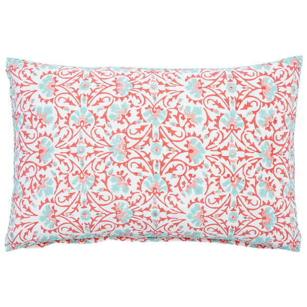 John Robshaw Torana Coral Decorative Pillow