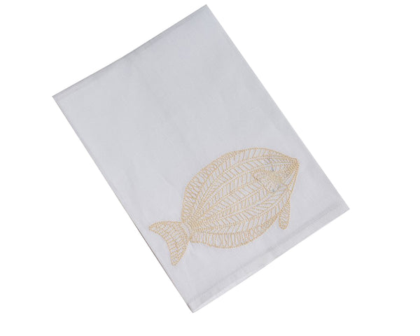 Tuna Tip Towel, Cream
