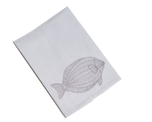 Tuna Tip Towel, Gray