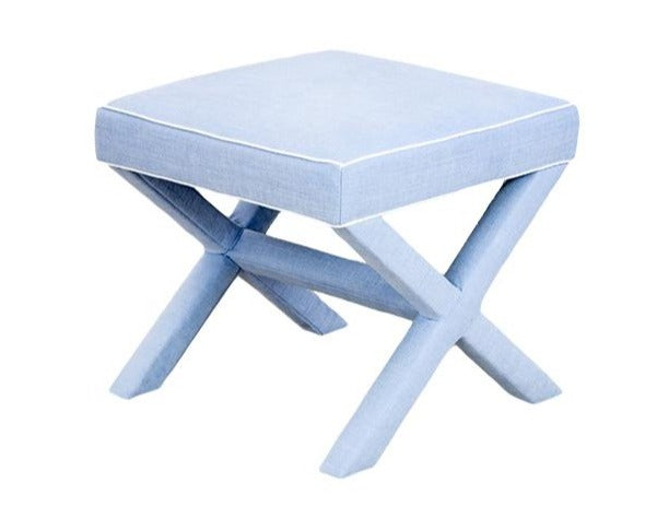 X Bench in Periwinkle