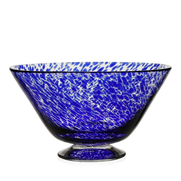 William Yeoward Crystal Vanessa Bowl, Blue