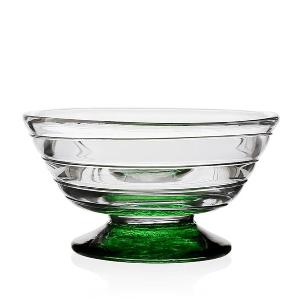 William Yeoward Crystal Vanessa Nut Bowl, Green