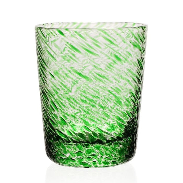 William Yeoward Crystal Vanessa Old Fashioned Tumbler, Green