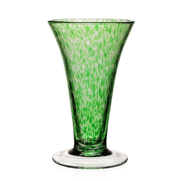 William Yeoward Crystal Vanessa Vase, Green, 11""