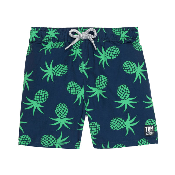 Boy's Pineapple Trunks