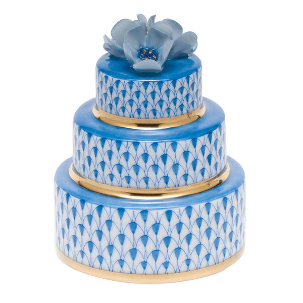 Herend Wedding Cake, Blue