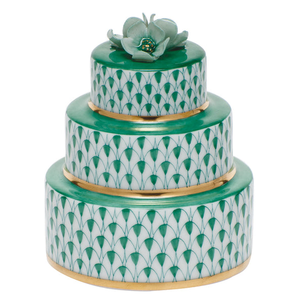 Herend Wedding Cake, Green