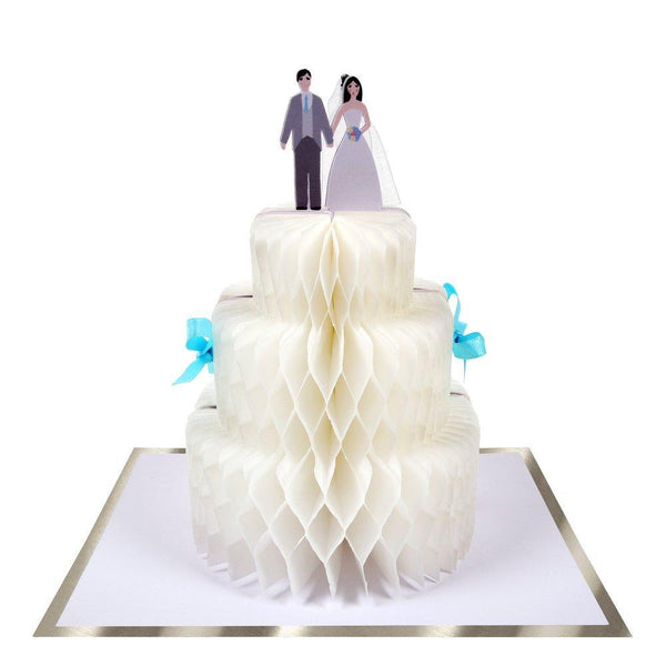 Congrats - Wedding Cake Honeycomb