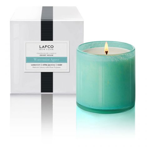 Watermint Agave Candle