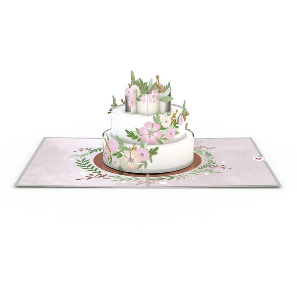 Pop Up Card, Wedding Cake