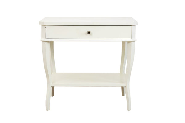 West Paces Side Table in White