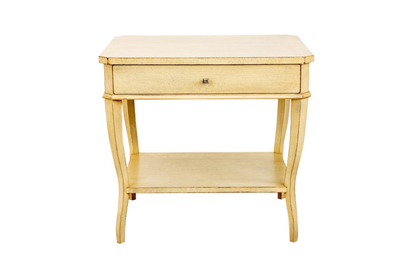 West Paces Side Table in Weathered Linen