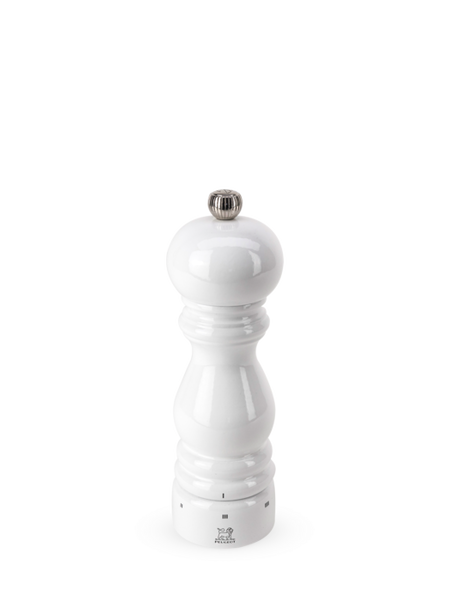 White Lacquer Pepper Mill
