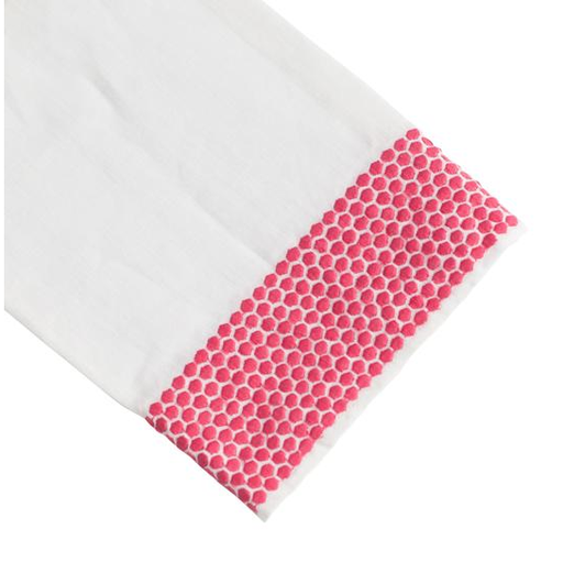 Honeycomb Tip Towel, Pink