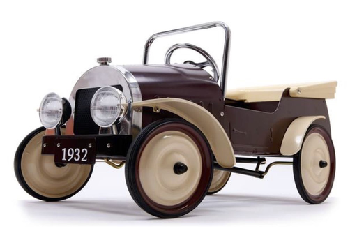 Classic Pedal Car, Country Brown