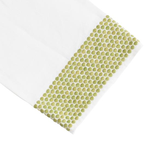 Honeycomb Tip Towel, Green