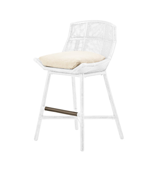 Maketto Barstool in White