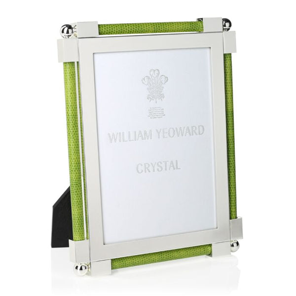 william yeoward crystal shagreen lime green frame