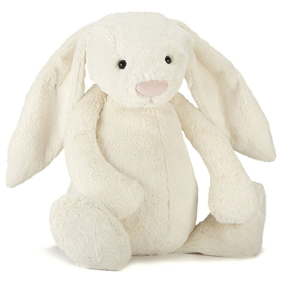 Jellycat Cream Bashful Bunny, Really Big