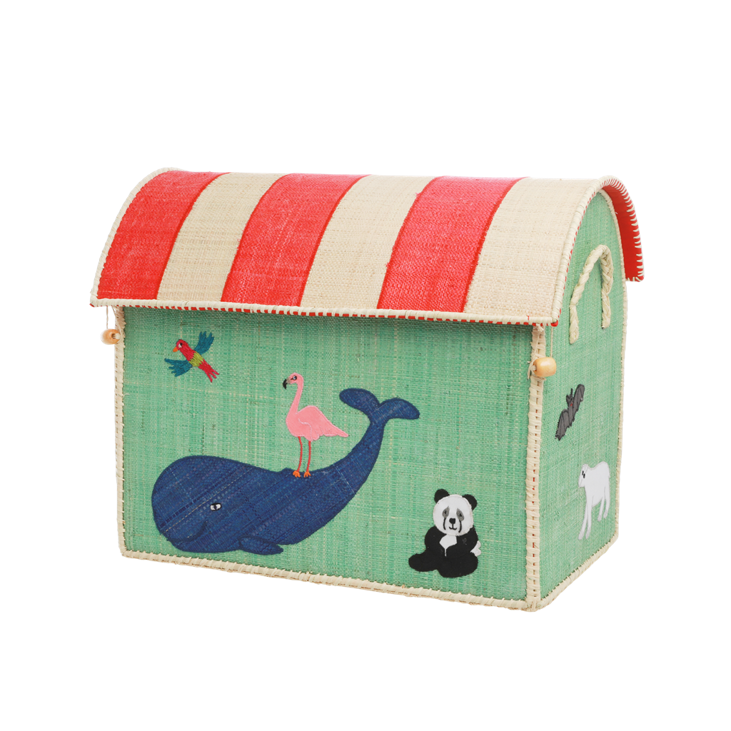 Animal Toy Basket, Medium