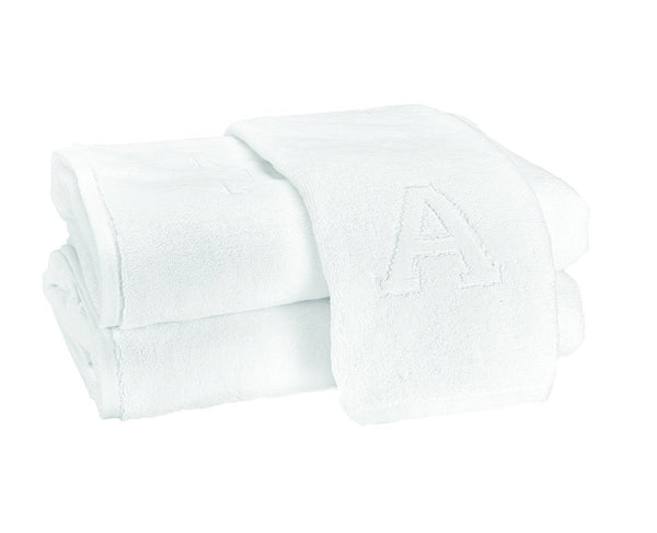 Matouk Auberge Monogram Bath Towels
