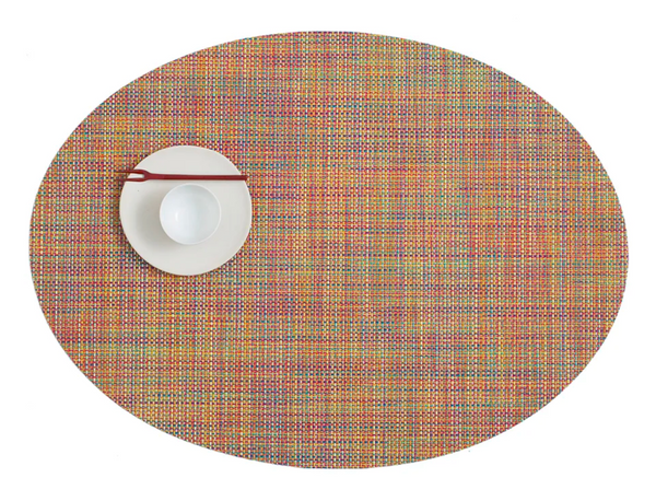 Oval Placemat, Confetti