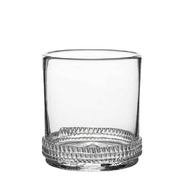 Juliska Dean Double Old Fashion, Clear