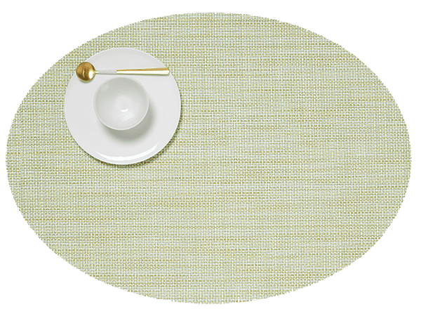 Oval Placemat, Matcha