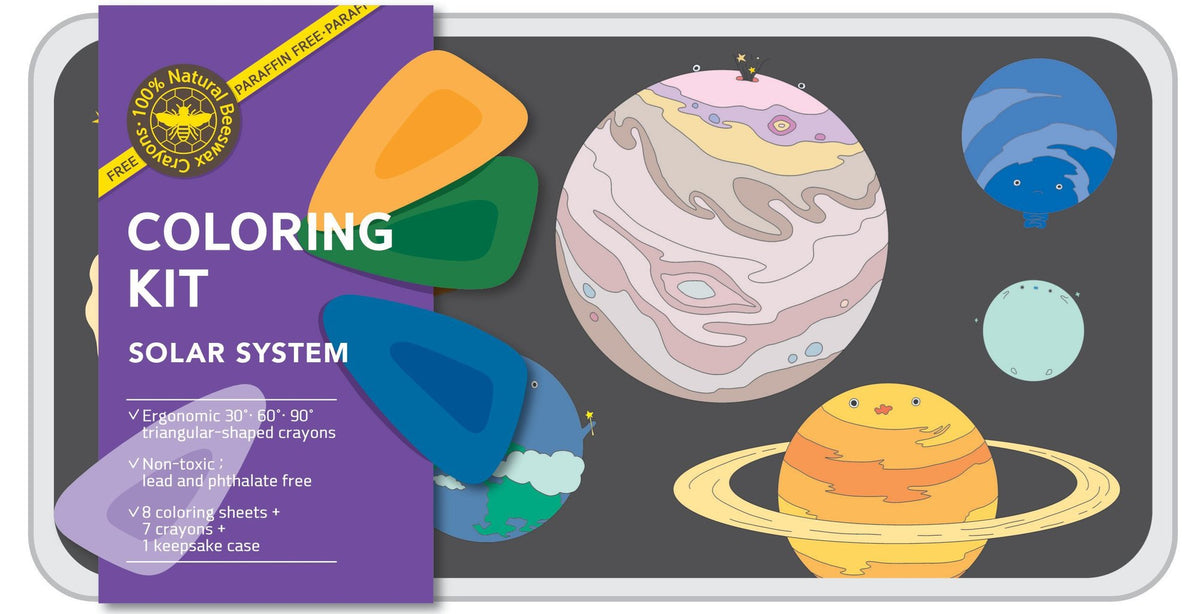 Color Jeu Solar System Coloring Kit