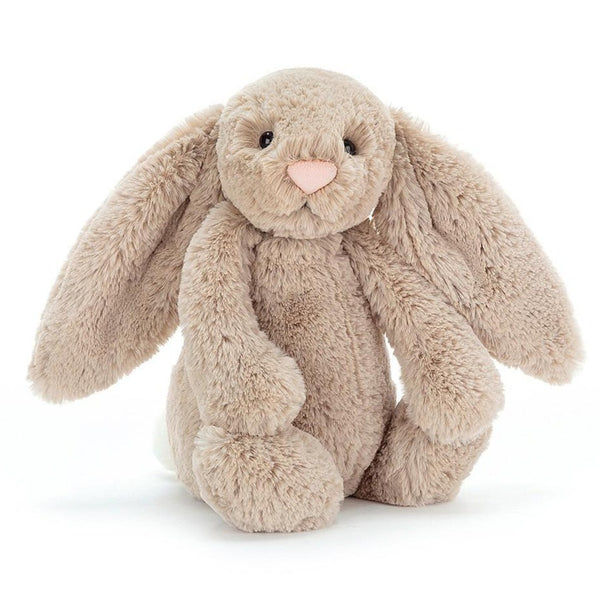Jellycat Beige Bashful Bunny, Medium