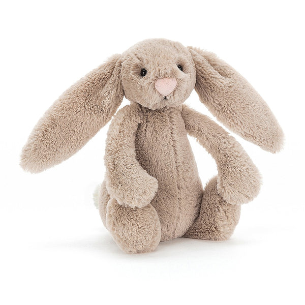 Jellycat Beige Bashful Bunny, Small