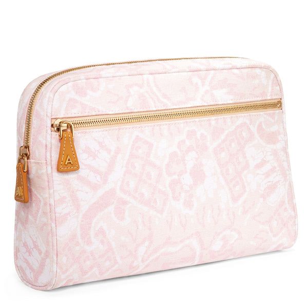 AERIN Batik Beauty Bag, Medium