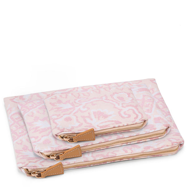 AERIN Batik Beauty Bag Set