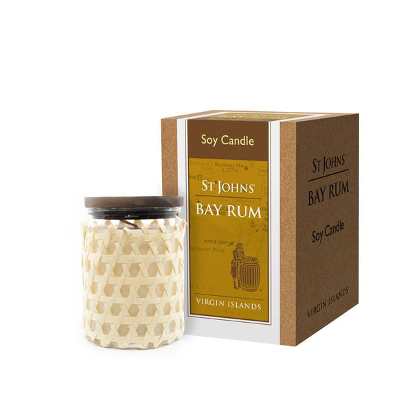 St. John's bay rum candle