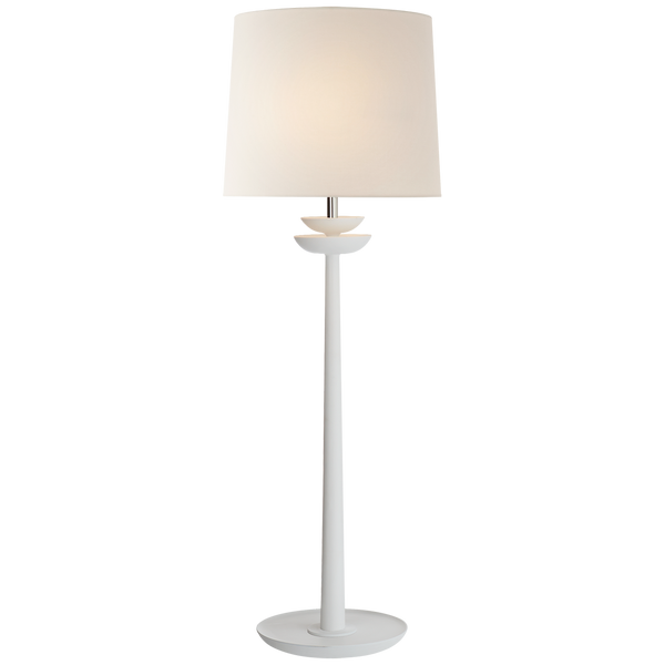 Beaumont Medium Buffet Lamp, Matte White